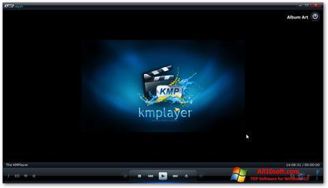Petikan skrin KMPlayer untuk Windows 10