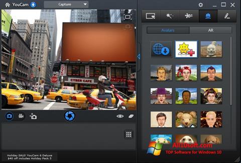 Petikan skrin CyberLink YouCam untuk Windows 10